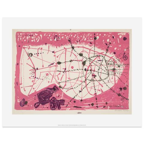 Marine Composition by Eduardo Paolozzi art print