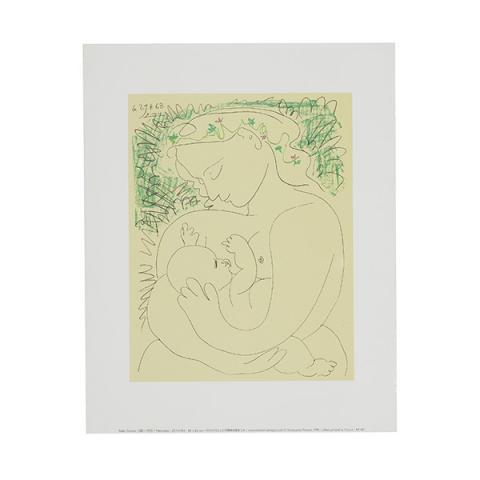 Maternité (Grand Maternity) by Pablo Picasso art print