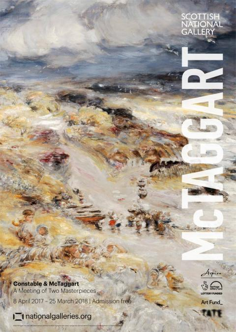 McTaggart Exhibition Poster