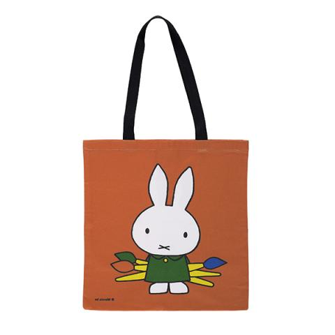 Miffy painting reusable canvas tote bag