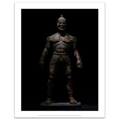 Model Talos from Jason and the Argonauts art print