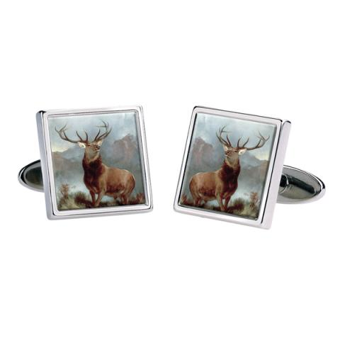 The Monarch of the Glen Cufflinks