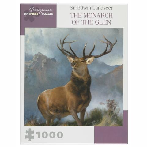 Monarch of the Glen (1,000 pieces) Jigsaw Puzzle