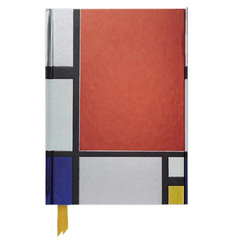 Composition Piet Mondrian A5 Journal