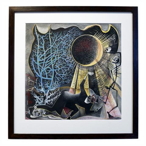 Moonstruck by John Byrne framed limited edition print (edition number 3)