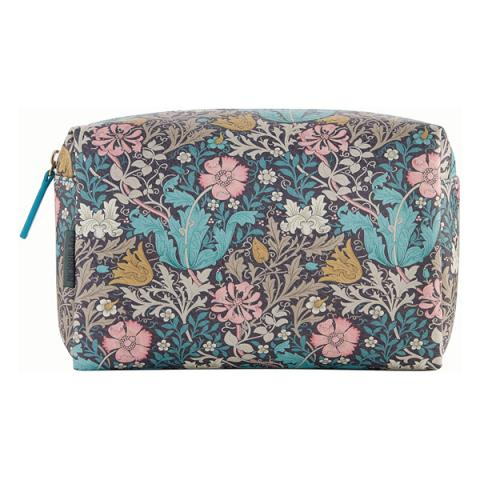 Morris & Co. Pink clay & honeysuckle large wash bag