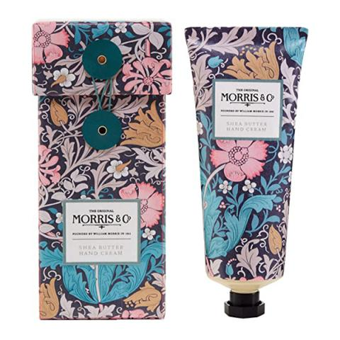 Morris & Co. pink clay & honeysuckle hand cream