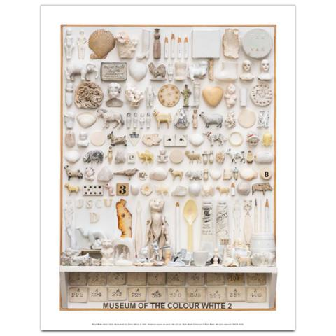 Museum of the Colour White 2, 2001 by Peter Blake art print