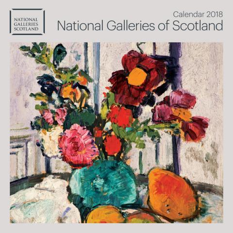National Galleries of Scotland Calendar 2018