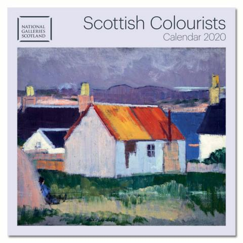 National Galleries of Scotland - Scottish Colourists 2020 Wall Calendar