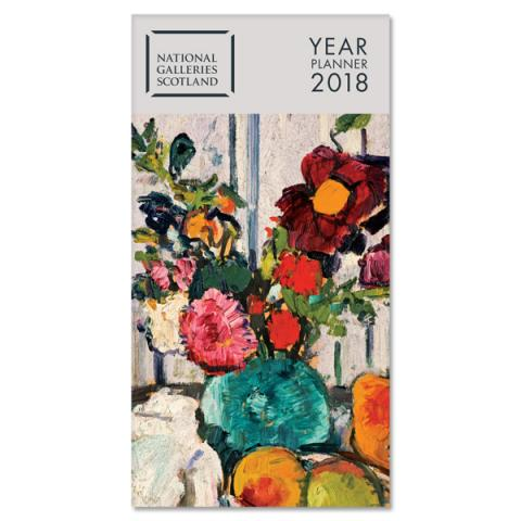 National Galleries of Scotland Year Planner 2018