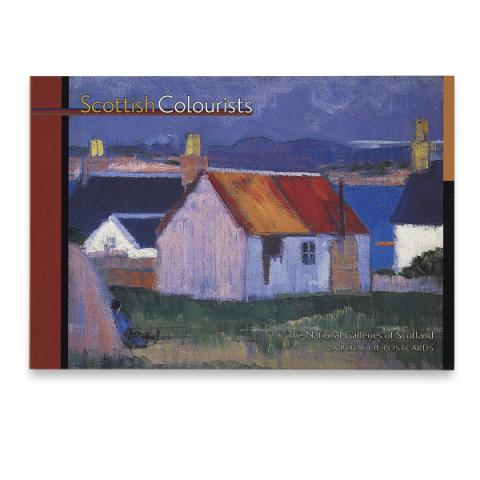 Scottish Colourists  Postcard Book