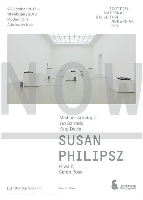 Now II Susan Philipsz Exhibition Poster