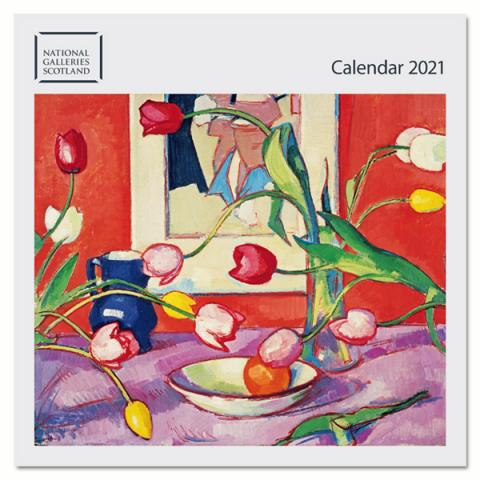 National Galleries of Scotland 2021 wall calendar