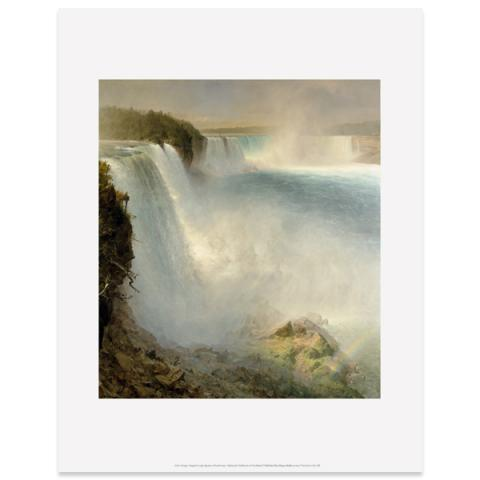 Niagara Falls by Frederic Edwin Church art print