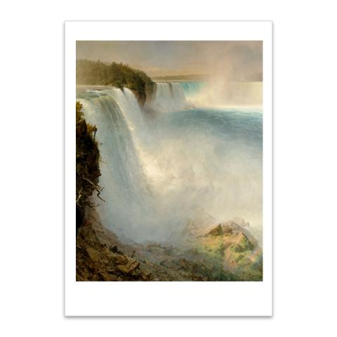 Niagara Falls by Frederic Edwin Church A5 postcard