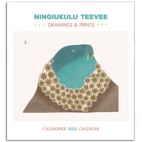 Ningiukulu Teevee: Drawings and Prints 2021 wall calendar
