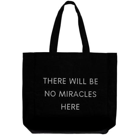 There will be no miracles here by Nathan Coley reusable canvas tote bag