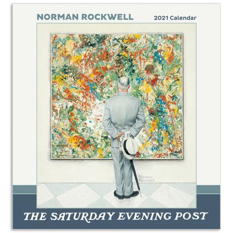Norman Rockwell: The Saturday Evening Post 2021 wall calendar