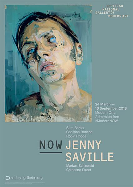 Exhibition Poster NOW III Jenny Saville