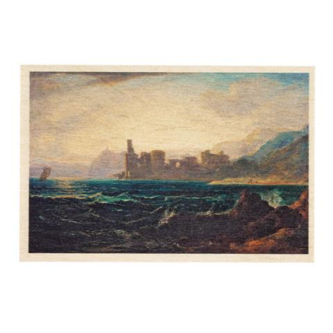 On the Firth of Clyde by Rev. John Thomson wooden postcard
