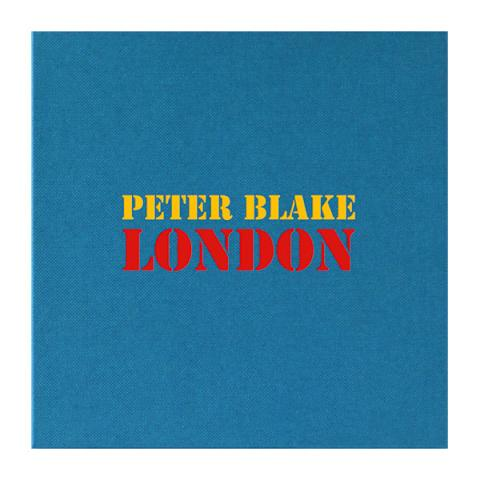 Postcard box | London by Peter Blake (20 postcard prints)
