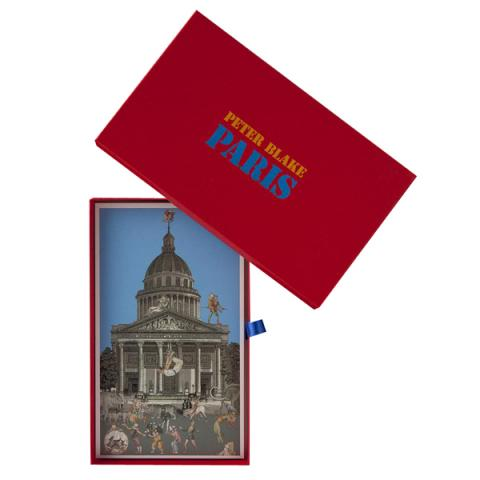 Postcard box | Paris by Peter Blake (20 postcard prints)