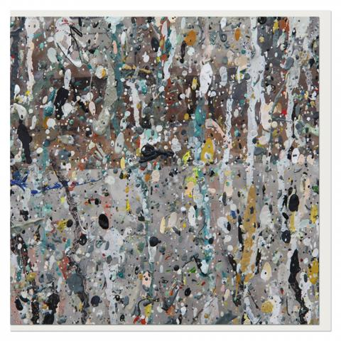 Paint Splatter II by Norman McBeath greeting card