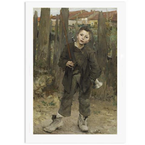Pas Mèche (Nothing Doing) by Jules Bastien-Lepage poster print