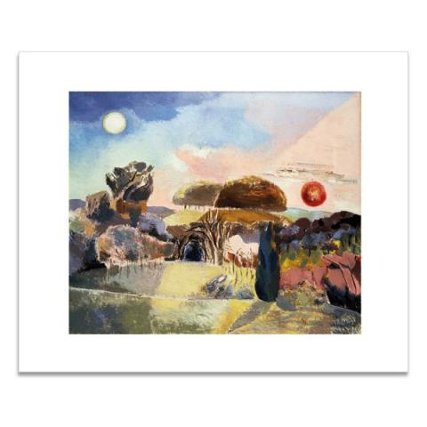 Landscape of the Vernal Equinox (III) greeting card