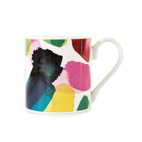 Pedro abstract pattern mug