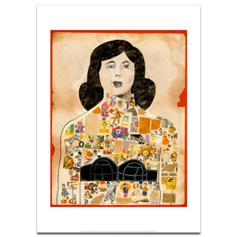 Tattooed Lady, 1958 by Peter Blake poster print