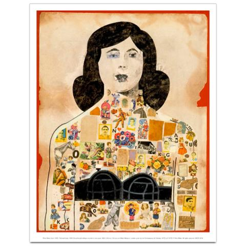 Tattooed Lady, 1958 by Peter Blake art print