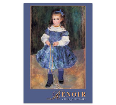 Pierre Auguste Renoir notecard folio (10 cards)