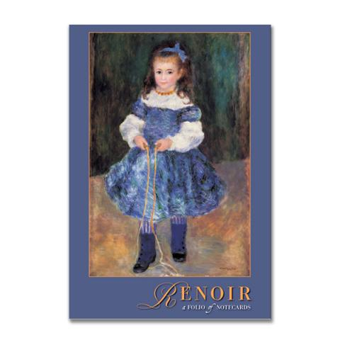 Pierre Auguste Renoir notecard folio (10 cards)