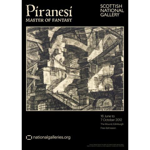 Piranesi Master of Fantasy Exhibition Poster