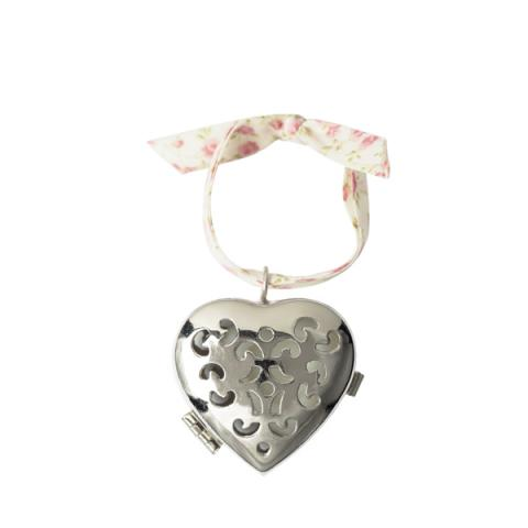 Small Scented Heart Rose Ancienne Pomander