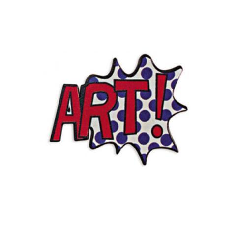 Pop Art Brooch