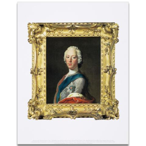 Prince Charles Edward Stuart by Allan Ramsay art print