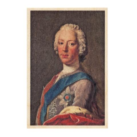 Prince Charles Edward Stuart by Allan Ramsay wooden postcard