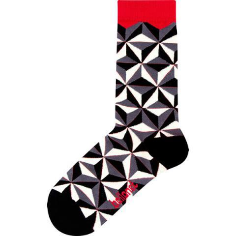 Prism unisex cotton socks (size 4-7 UK)
