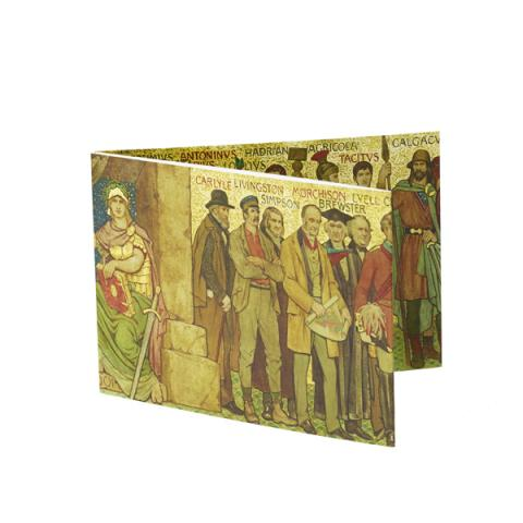 Processional Frieze (North Wall) Fold-out Card
