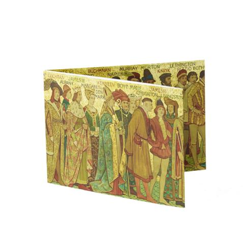 Processional Frieze (South Wall) Fold-out Card
