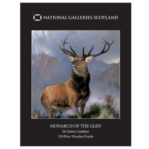 Monarch of the Glen (250 pieces) Wooden Jigsaw Puzzle
