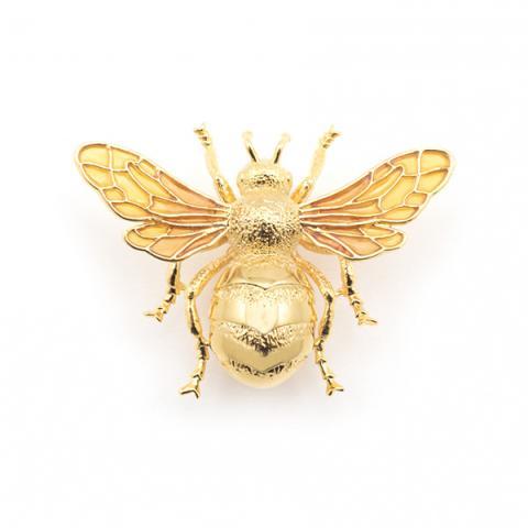 Queen bee statement brooch