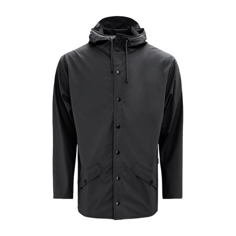 Waterproof black unisex jacket S/M