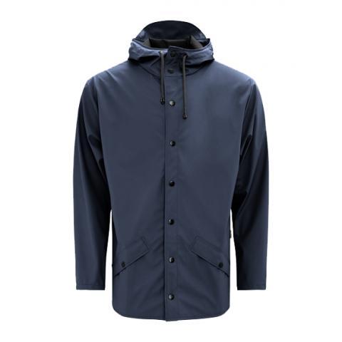 Waterproof blue unisex jacket XXS/XS