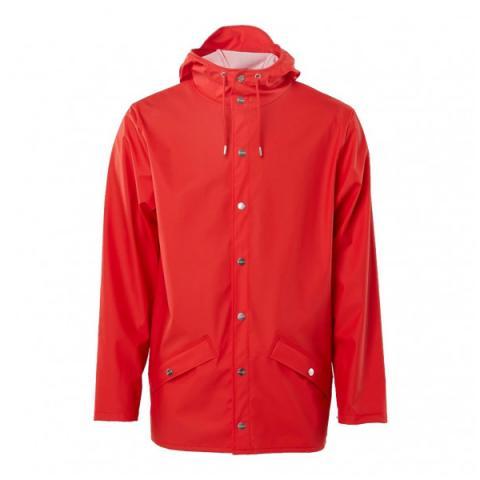 Waterproof red unisex jacket XS/S