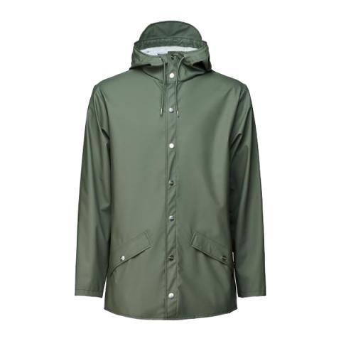 Waterproof sage green unisex jacket S/M