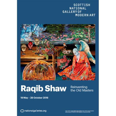 Raqib Shaw: Reinventing the Old Masters exhibition poster